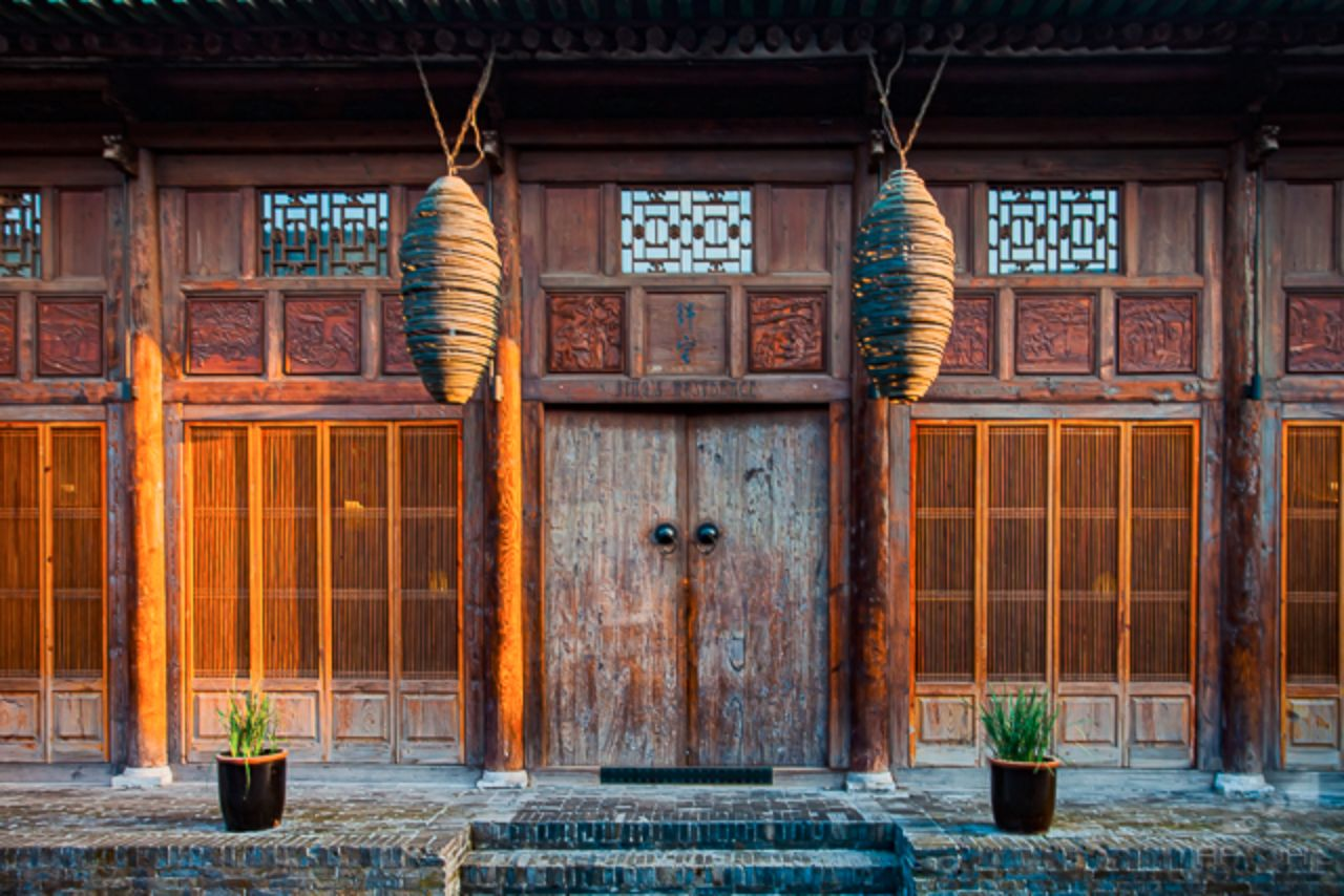 Architectural details in and around Pingyao Ancient City