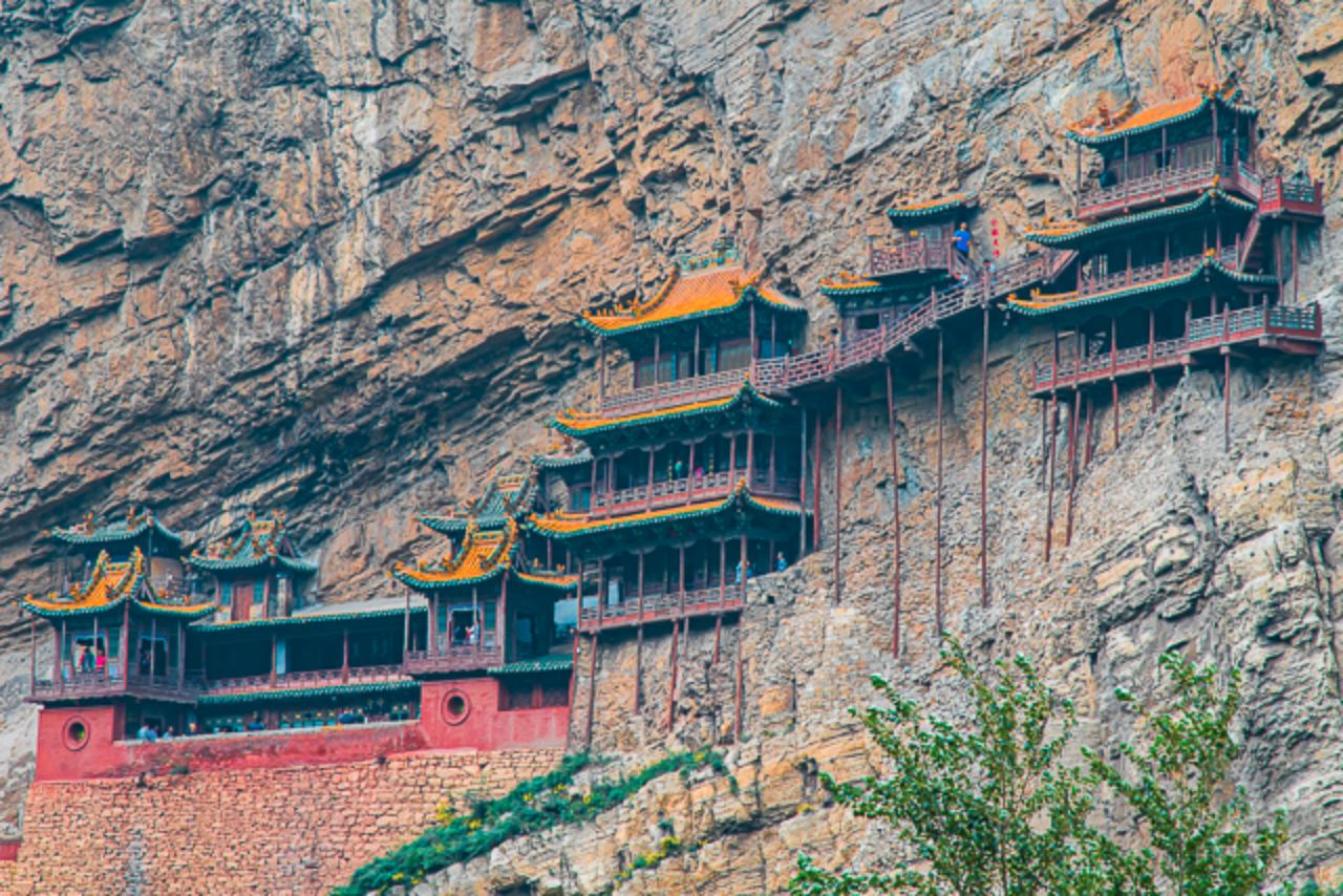 Hanging Monastery in Datong, China